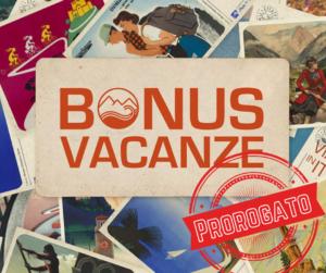 Bonus Vacanze prorogato